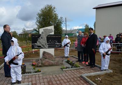 В Коми открыли памятник воинам-оленеводам Великой Отечественной войны