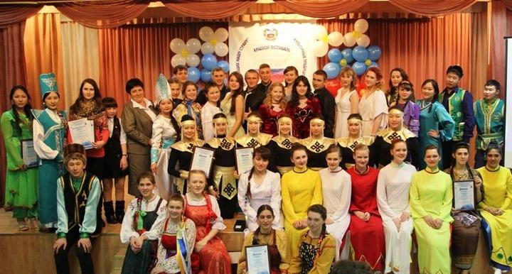 """В Барнауле завершился фестиваль культурных традиций """"Мы вместе"""""""