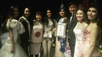 Бурятка победила в монгольском конкурсе красоты