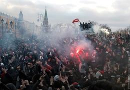Суд снизил на несколько месяцев сроки осужденным за беспорядки на Манежной площади