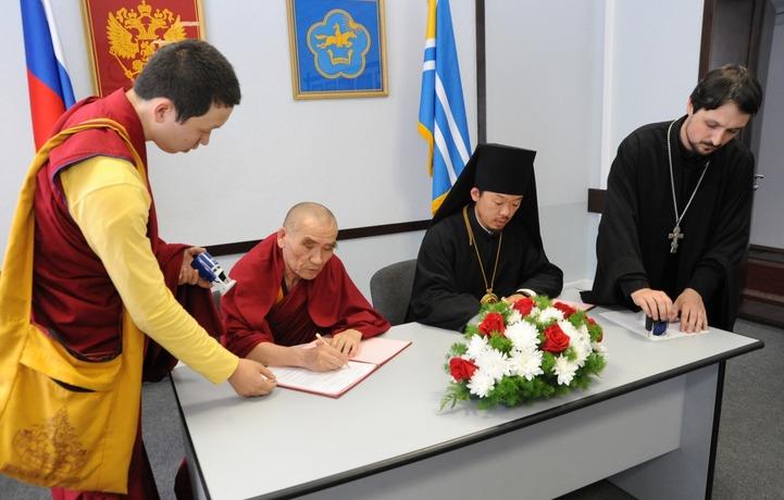 В Туве создали межрелигиозный буддийско-православный Совет республики