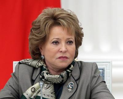 Матвиенко: В некоторых российских регионах до 10% жителей не говорят на русском