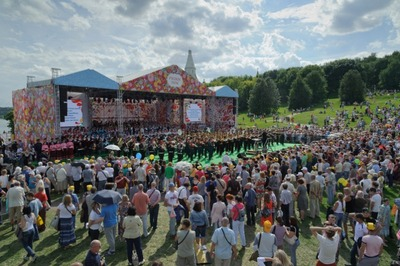 """Фестиваль """"Русское Поле"""" посетили более 100 тысяч человек"""