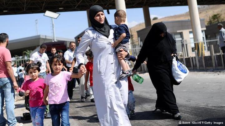 В России около двух тысяч граждан Сирии получили временное убежище