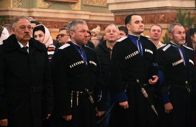 Ставропольские казаки патрулировали храмы и общественные места в новогодние праздники