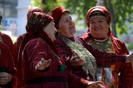 Москвичи повеселились на удмуртском Гербере