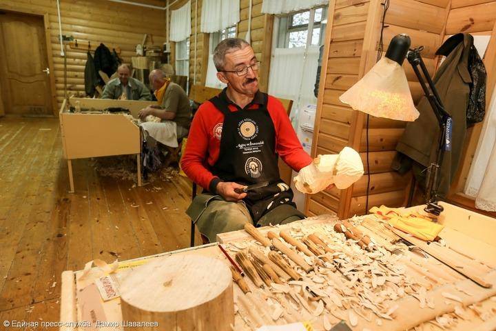 В Сергиево-Посадском районе Подмосковья провели фестиваль народных промыслов