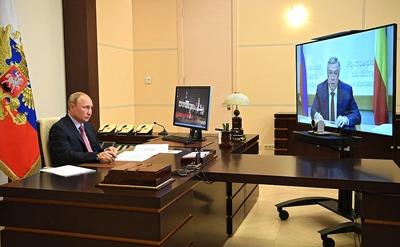 Ростовский губернатор пригласил Путина отпраздновать 450-летие служения казаков России