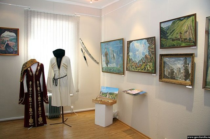 В Карелии открылась выставка посвящённая чеченцам и ингушам