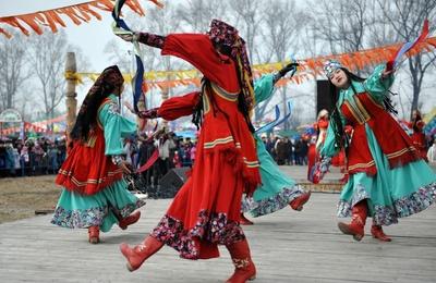 В Хакасии встретили Новый год