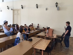 Студенты Школы межэтнической журналистики выдержали выпускной экзамен