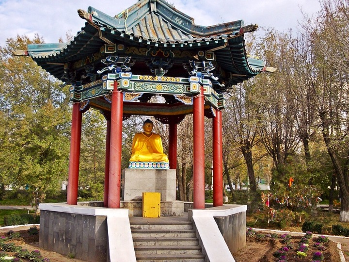 Экспертиза опровергла осквернение статуи Будды дагестанским борцом
