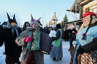 Жителям Воронежа напомнят о новогодних традициях