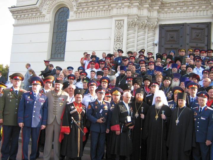 В Новочеркасске открылся Всемирный съезд казаков