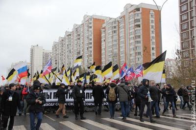 """Националисты подали заявку на """"Русский марш"""" в центре Москвы"""