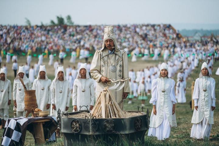 """Более 205 тысяч человек посетили """"Ысыах Туймаады"""" в Якутии"""