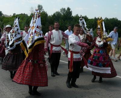 Удмуртский праздник Гырон быдтон отметили в Татарстане