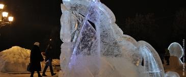 Ледяные скульптуры героев удмуртских сказок появятся в Ижевске