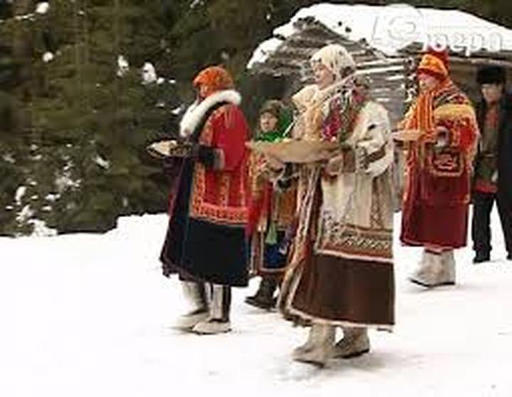 В Старом Сургуте принесли жертву и извинились перед природой