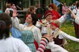 В Петрозаводске будут водить крууги по главной площади