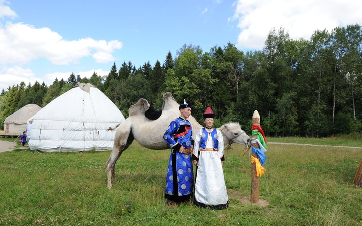 Бурятская традиционная свадьба