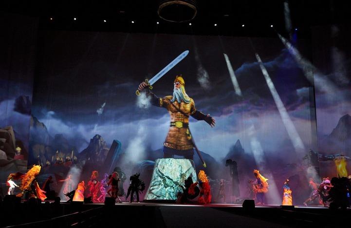Русские сказки показали в 3D-мюзикле