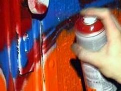 20-летнего курганца подозревают в антисемитизме, пропагандируемом с помощью аэрозольной краски