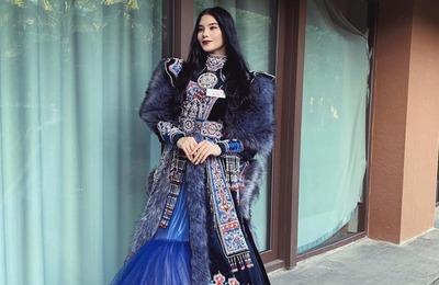 """Якутская участница конкурса """"Мисс мира"""" показала в Китае этнический костюм"""