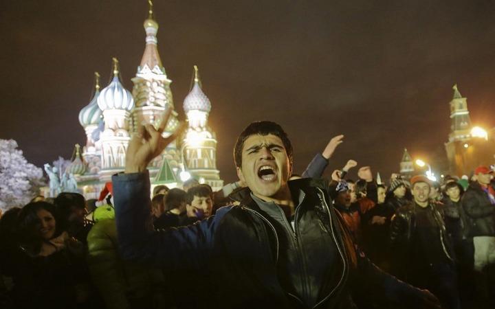 ФМС будет выявлять нелегалов на Красной Площади под Новый год