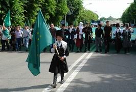 Черкесского активиста задержали на шествии к 150-летию окончания Кавказской войны