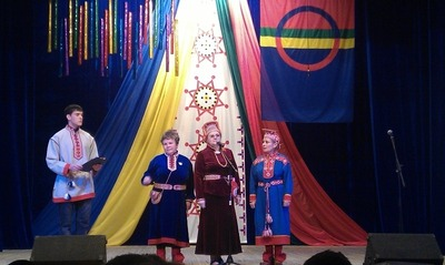 Российские саамы отметили национальный праздник соревнованиями по биатлону с арбалетами