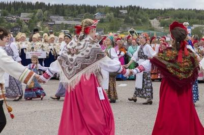 Праздник северного фольклора прошел на берегу Белого моря