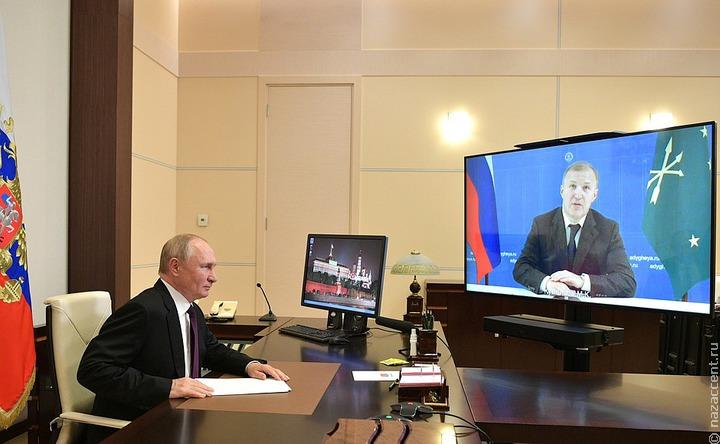 Путин обещал приехать на празднование 100-летия Адыгеи