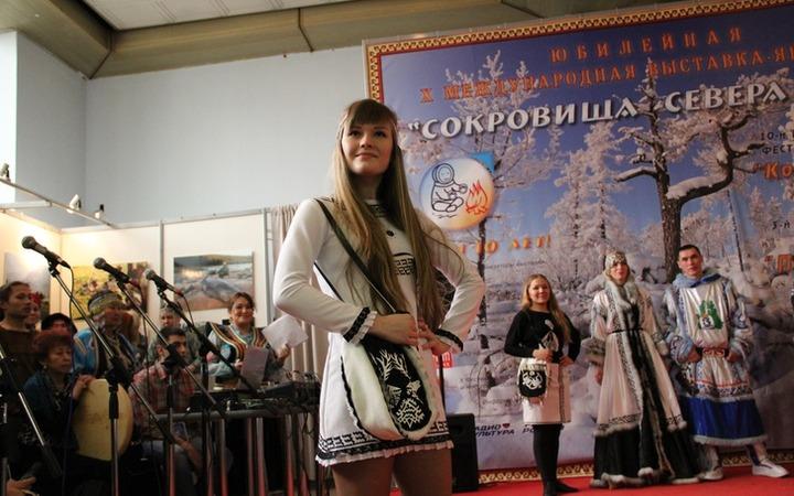 """Фестиваль этнической моды """"Полярный стиль-2015"""""""