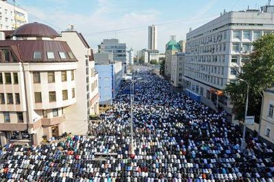 В Москве усилят меры безопасности во время Курбан-байрама