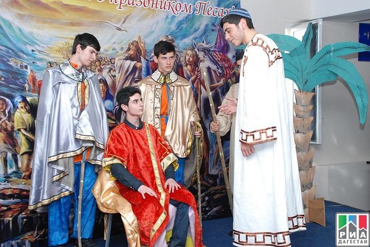 В Махачкале Песах отметили праздником татской культуры
