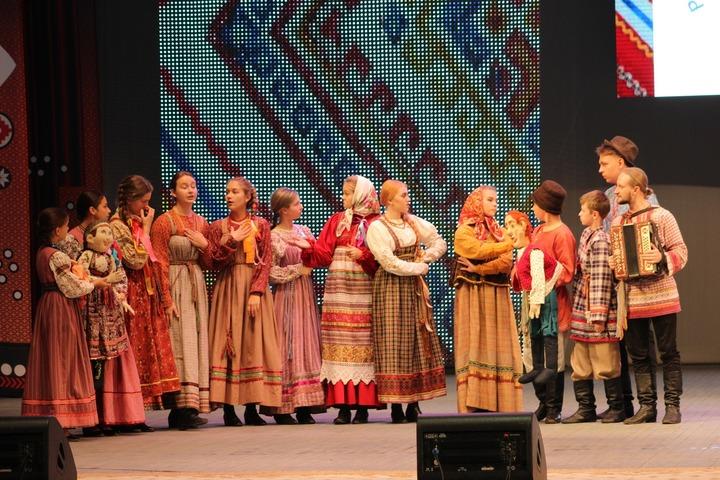 Народные игры и обряды воссоздали на Детской фольклорной ассамблее
