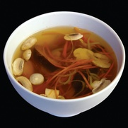 Грибной суп по-корейски