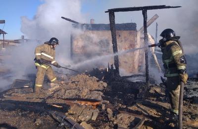 """Этнопарк """"Золотая Орда"""" в Иркутской области мог сгореть из-за электропроводки"""