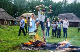 В калужском этнопарке отметили День Ивана Купалы