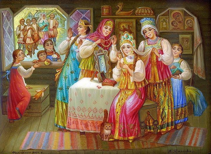 Барнаульцам покажут свадебные обряды разных народов