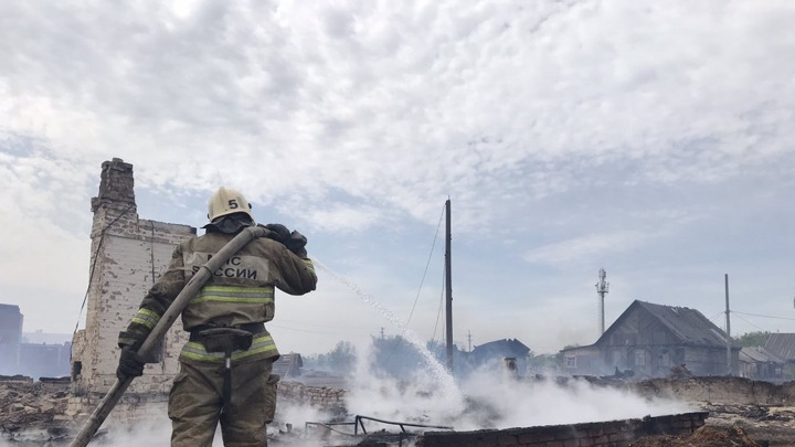 Житель сгоревшего цыганского поселка под Самарой заявил об умышленном поджоге