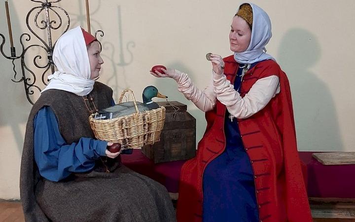 Пасхальное поздравление 17 века реконструировали в Мордовии