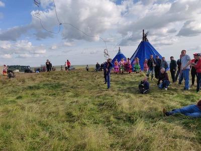 День оленя в Коми отметили гонкой на упряжках и детскими конкурсами