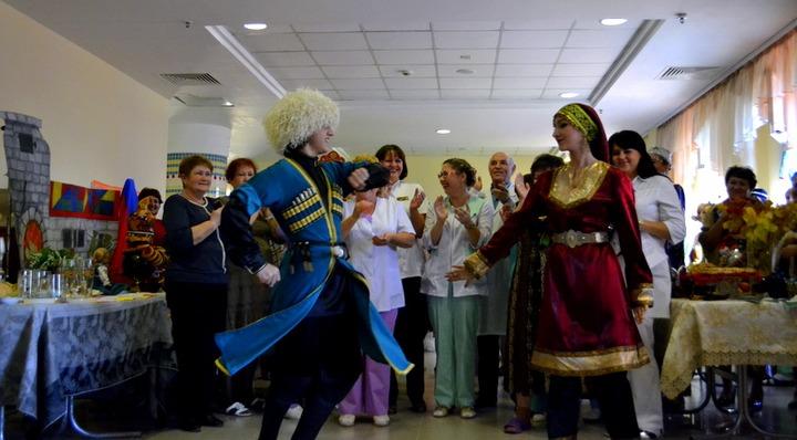 В нижневартовской детской больнице устроили День национальных культур