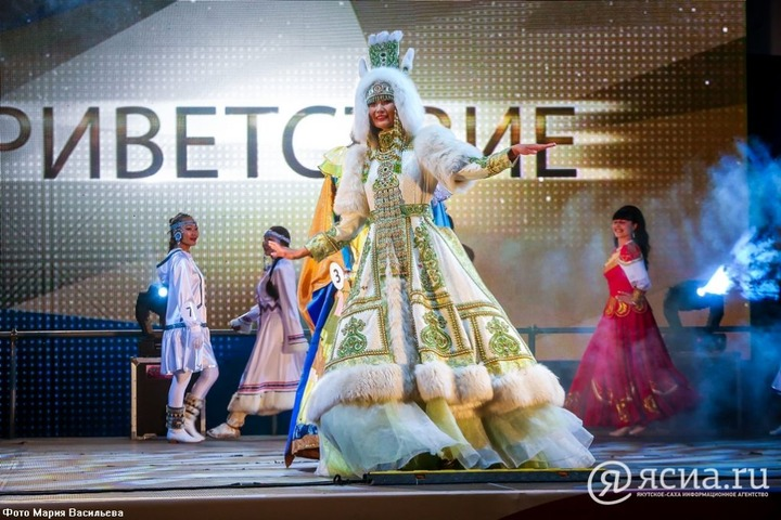 Якутянка выиграла конкурс красоты на Восточном экономическом форуме