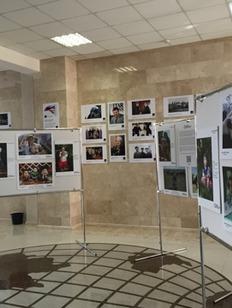 """Выставка """"Дети России"""" открылась в Грозном"""