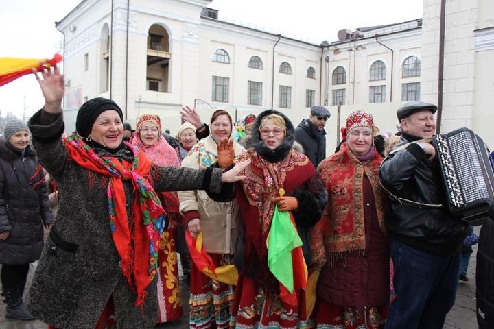 В Казани отгуляли Широкую Масленицу