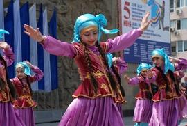"""В Дагестане проходит фольклорный фестиваль """"Горцы"""""""