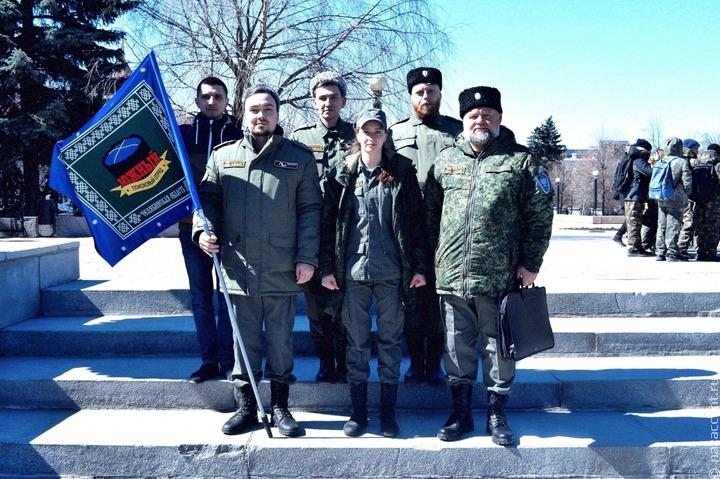 Поисковой отряд казаков отправился на вахту по местам воинской славы